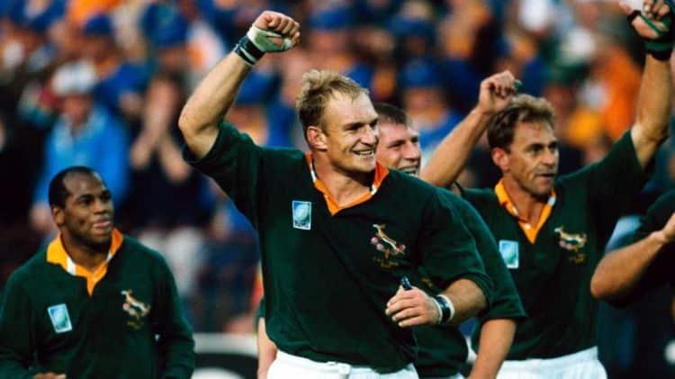 Francois Pienaar - coupe du monde 1995