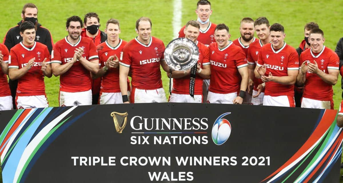 Pays de Galles remporte le Tournoi des 6 Nations