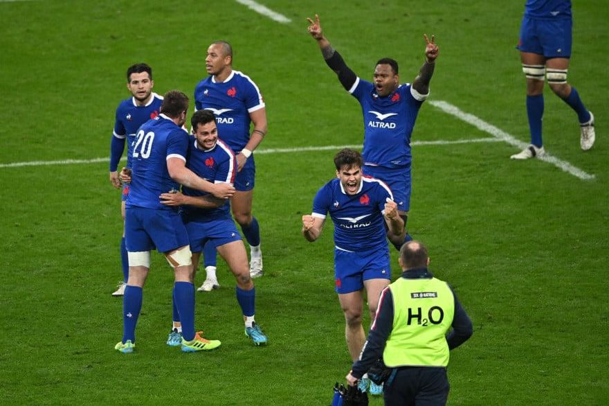 Victoire française contre le Pays de Galles