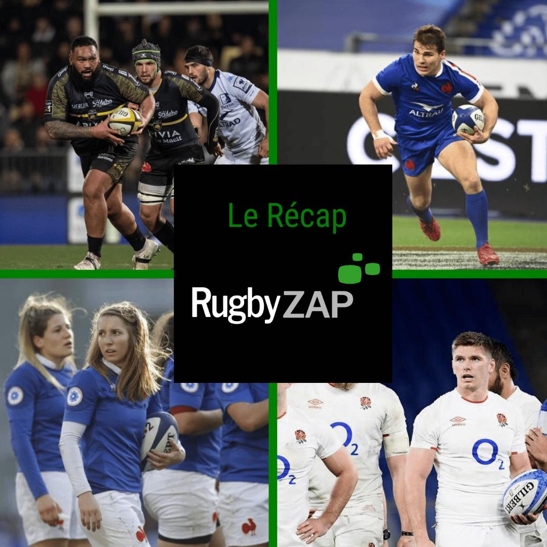 Récap Rugbyzap Novembre