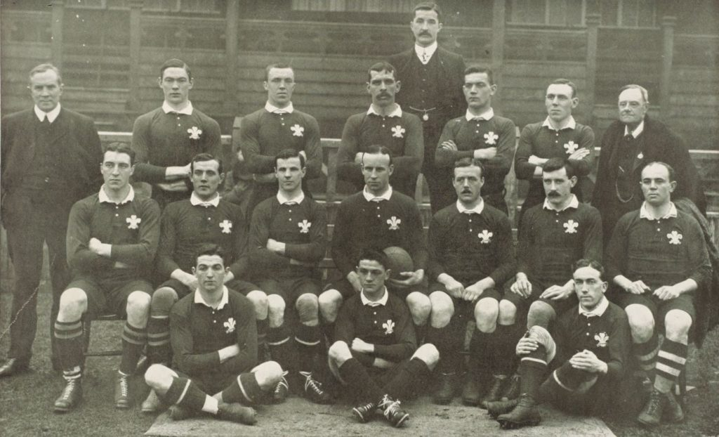 pays de galles rugby 1905