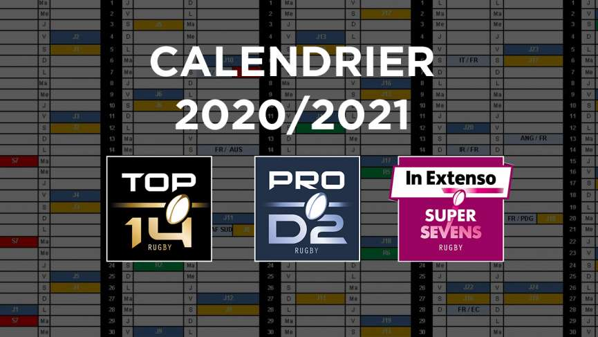 calendrier 2020-2021 rugby
