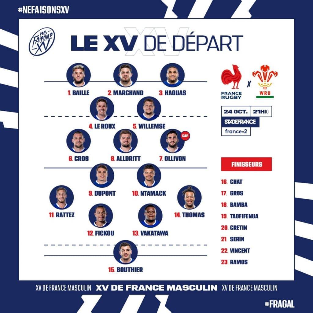 Compo XV de France