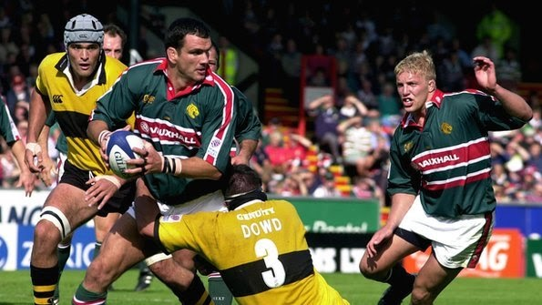 martin johnson leicester