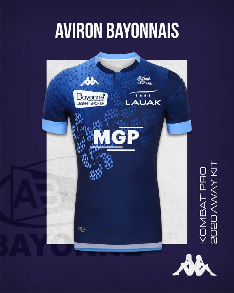 aviron bayonnais maillots 2020/2021