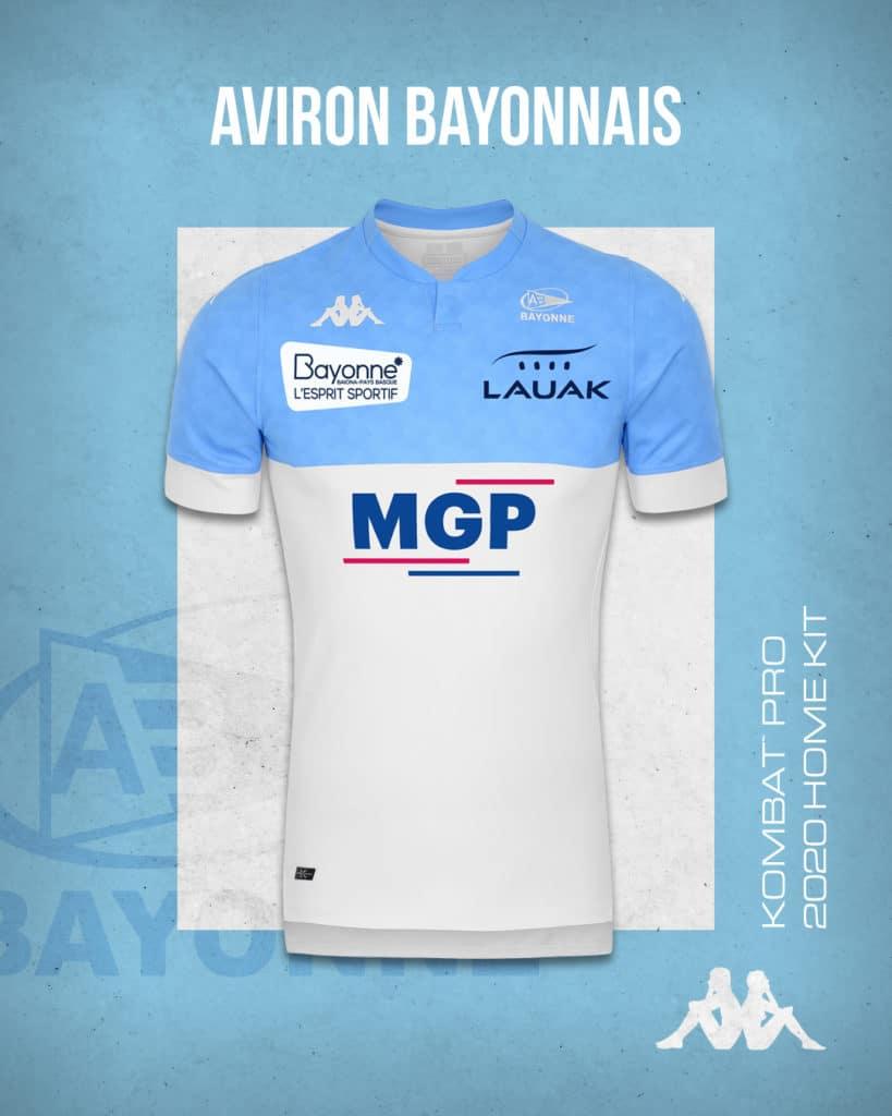 Aviron bayonnais maillot 2020/2021