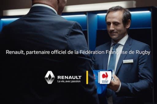 Renault partenire officiel