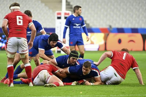 XV de France vs Pays de Galles octobre 2020